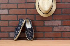 Get ready for a day on the water with a pair of espadrilles decorated with anchors and sea rope. Pick them up from Cracker Barrel Old Country Store.