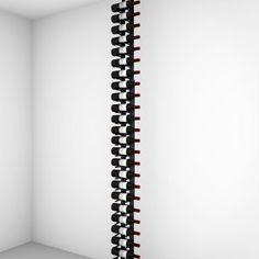 Floor-to-Ceiling | Metal Floor Standing Wine Rack - Ultra Wine Racks Wine Bottle Storage, Wine Racks, Wood Wall Wine Rack, Standing Wine Rack, Metal Floor, Wine Collection, Displaying Collections, Fine Wine, Bottle Design