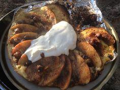 Eplekake i stekepanne – Turmat.no Pancakes, French Toast, Breakfast, Food, Morning Coffee, Essen, Pancake, Meals, Yemek