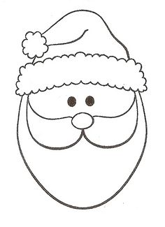 Santa, good for patchwork                                                                                                                                                                                 More