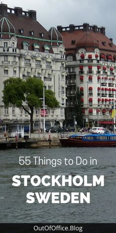 Stockholm is full of parks, promenades, incredible museums and a gorgeous cobble stoned old town. Here are 55 things to do in Stockholm Sweden to plan your perfect itinerary. Travel Through Europe, Europe Travel Guide, Travel Destinations, Europe Packing, Traveling Europe, Backpacking Europe, Packing Lists, Travel Packing, Holiday Destinations