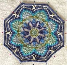 Persian Tiles by Janie Crow