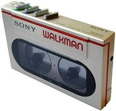Sony as small as a tape cassette box when empty. Expands to accept cassette. Uses 1 AA battery. Cassette Vhs, Sony Electronics, Hifi Audio, Boombox, Audio Equipment, Audiophile, Retro, Cool Stuff, Sony Products