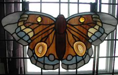 stained glass - butterfly pattern