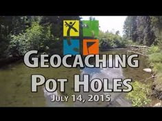 Geocaching at the Potholes, Silver Fork, American River, July 14, 2015