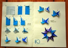 Risultati immagini per origami mandala star