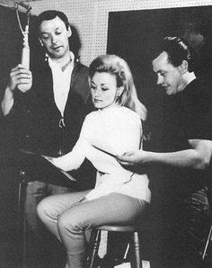 Dolly Parton with her Uncle Bill Owens (right)