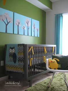 another owl nursery idea
