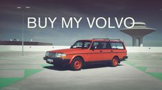 Artist Makes Hilariously Bizarre and Dramatic Commercial to Sell His Old Volvo Wagon