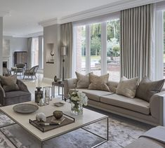 Bright and airy formal sitting room at the wentworth project