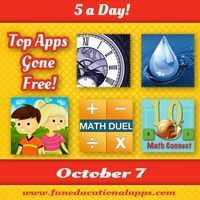 5 Free great educational apps to start the week. For today's 5 a Day we have an interactive adventure book - eBook Time Machine: Age of the ...