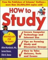 How to Study: And Other Skills for Success in College by Allan Mundsack #studytips