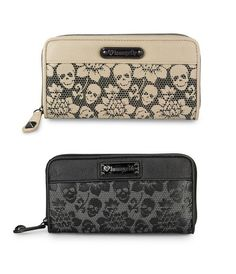 Loungefly Skull Wallets