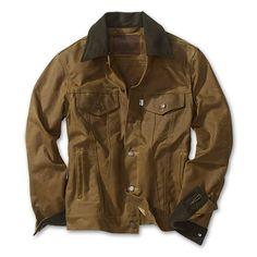 Levis X Filson Oil Finish Trucker Jacket
