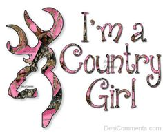 I filled the browning logo with pink mossy oak camo & added a phrase.