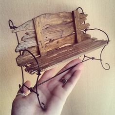 1 million+ Stunning Free Images to Use Anywhere Miniature Crafts, Miniature Fairy Gardens, Miniature Furniture, Doll Furniture, Fairy Garden Furniture, Fairy Village, Fairy Garden Accessories, Fairy Doors, Wire Crafts