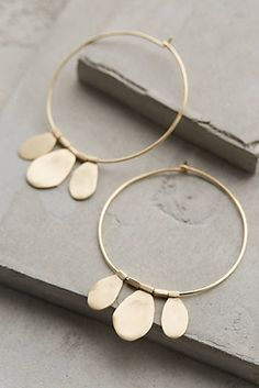 Tamborim Hoops from Anthropologie