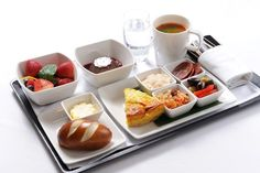Cathay Pacific Business Class Food