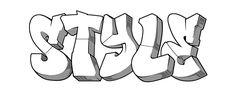 Graffiti Font Style - Bulky
