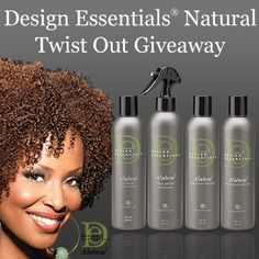 I just entered Design Essentials® Natural Twist Out Giveaway to win some amazing curly hair prizes on NaturallyCurly.com! You should enter too. Its easy, click here: http://www.naturallycurly.com/giveaways/Design-Essentials-Giveaway/st/51730620a96cd6.85342010