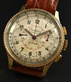 Unique Watches, Men's Watches, Vintage Watches, Luxury Watches, Cool Watches, Watches For Men, Pocket Watches, Breitling Chronomat, Vintage Pocket Watch