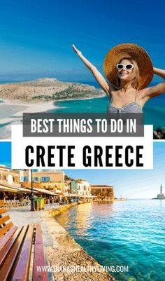 Unique Things to Do in Crete Greece Are you heading to Chania, Crete? Check out the top unique things to do in Chania Crete to enjoy your time on this beautiful island in Greece. Crete Greece, Crete Chania, Mykonos Greece, Athens Greece, Corfu, Santorini, Cool Places To Visit, Places To Travel, Travel Destinations