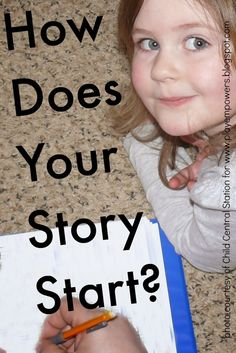 "Play Empowers : ""How Does Your Story Start?"" Inspired by Bev Bos"