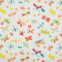 Florence Curtain Fabric - Mango