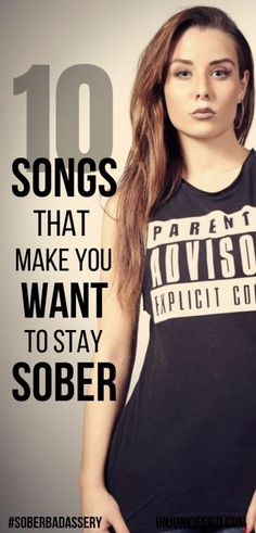 As a recovering addict, you should definitely have a recovery playlist. After all, many emotions evoke and is a great coping skill when used for sober motivation. Take a look at the 10 recovery songs Sober Quotes, Sobriety Quotes, Loving An Addict, Addiction Recovery Quotes, Getting Sober, Social Media Buttons, Sober Living, Teen, Willpower