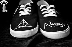 HARRY POTTER SHOES by EverAfterApparelAU on Etsy, $15.00