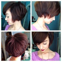 Grown out pixie cut Emma Gustavson
