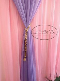 La Belle Vie Eventos: decoração Rapunzel