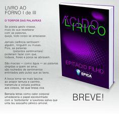 Blog do Epitácio Filho: LIVRO AO FORNO I de III