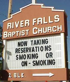 Image detail for -Interesting Church Signs - Families.com
