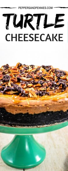 Turtle Cheesecake |