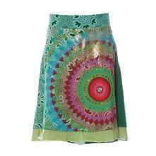 Desigual Gardner Skirt - Falda - verde