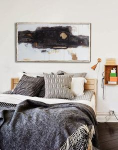 [Actu] 5 bulky furniture pieces you could eliminate for sleeker, diy alternatives — from the archives: greatest hits - Apartment therapy Dream Bedroom, Home Bedroom, Master Bedroom, Bedroom Decor, Casual Bedroom, Bedroom Colors, Modern Bedroom, Decoration Inspiration, Decor Ideas