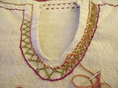Embroidered Embellishment (Clothing Edition) A great blog about SCA period embroidery