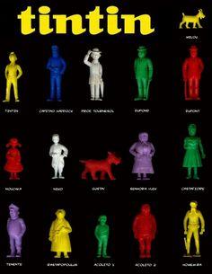 O_sotão_da_avó: Antigas Coleções de bonecos Monocromáticos