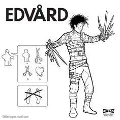 Ed Harrington Illustrations and Comics : Photo