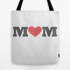 Love Mom Tote Bag by Jude's - $22.00