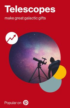 Telescopes are out-of-this-world (and trending on Pinterest). Pair this gift with a personalized star map for that extra special touch.