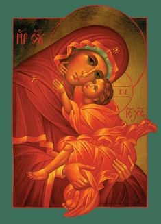 Mother of God icon by Jan Isham.