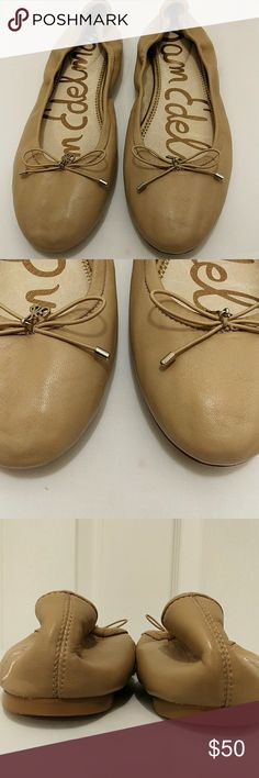 Sam Edelman leather ballet flats Excellent condition no steans no rips Sam Edelman Shoes Flats & Loafers