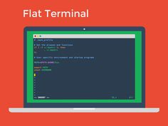 Flat UI Terminal Theme