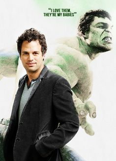 Avengers and their characters: Mark Ruffalo