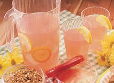 Old-Fashioned Pink Lemonade Recipe - Tablespoon