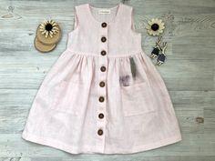 Baby Dress Design, Frock Design, Frocks For Girls, Little Girl Dresses, Toddler Fashion, Kids Fashion, Baby Girl Dress Patterns, Kids Frocks Design, Toddler Dress