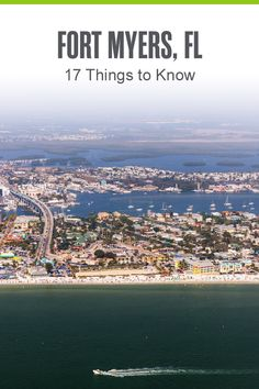 Thinking of moving to Fort Myers? This Florida Gulf Coast city is a great place to live, thanks to its budget-friendly housing, excellent weather, beach access, incredible restaurants, and more. Check out these 17 things to know about living in Fort Myers! Florida City, Florida Beaches, The Places Youll Go, Great Places, Estero Bay, Mlb Spring Training, Captiva Island, Fort Myers Beach, Florida Living