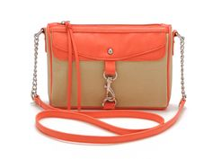Candie's Heidi Canvas Cross-Body Bag,$34